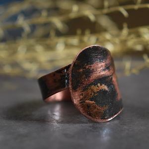 pierścionek kuty ręcznie