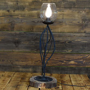 Rustykala ręcznie kuta lampa