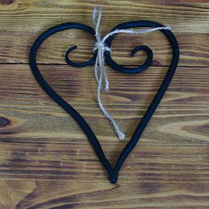 Dekoracyjne kute ręcznie serce