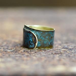 autorski pierścionek
