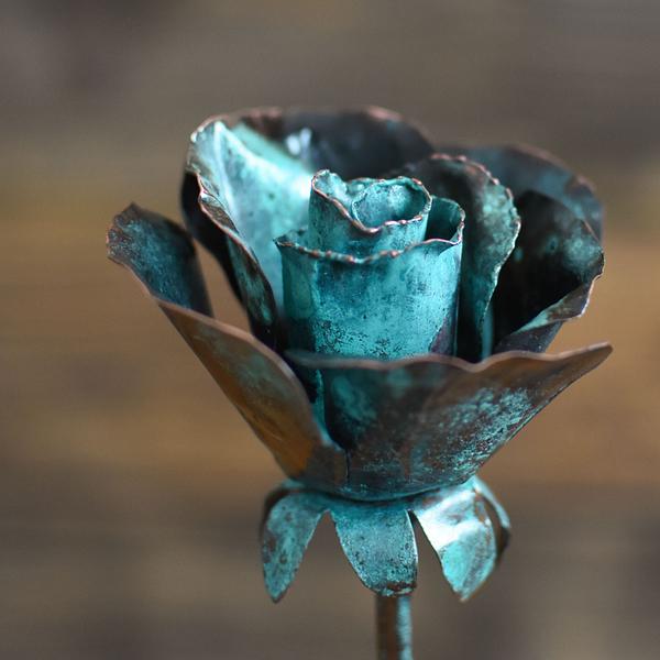 róża patynowana