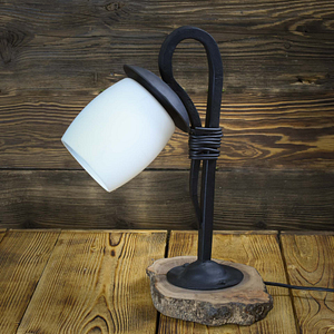 lampa wykonana ręcznie
