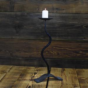 świecznik ręcznie robiony