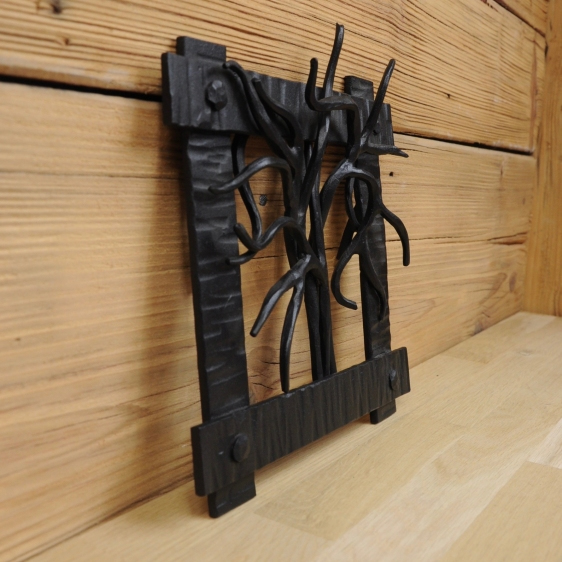 ręcznie wykonana kratka kominkowa