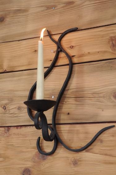 świecznik ścienny
